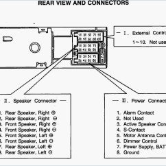 Wiring Diagram Car Audio Speakers 1985 Ford Alternator Factory Stereo