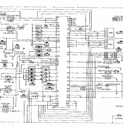 nissan an wiring diagram and electrical parts schematic [ 3575 x 2480 Pixel ]
