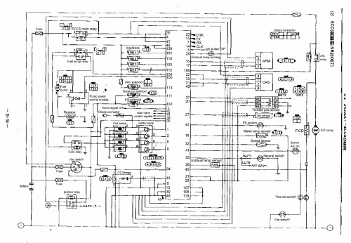 small resolution of nissan an wiring diagram and electrical parts schematic