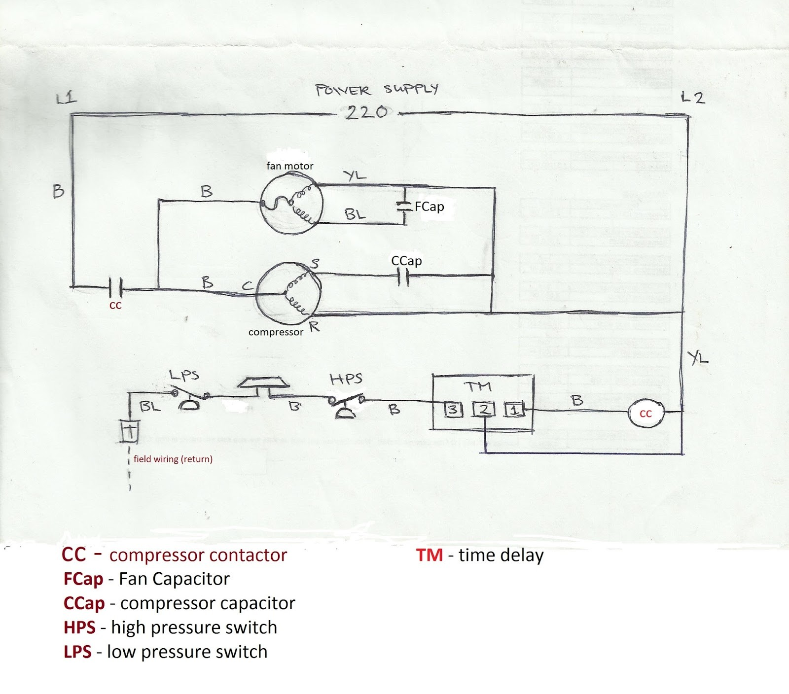 wiring diagram for carrier central air conditioner 2008 yamaha r6 ignition my