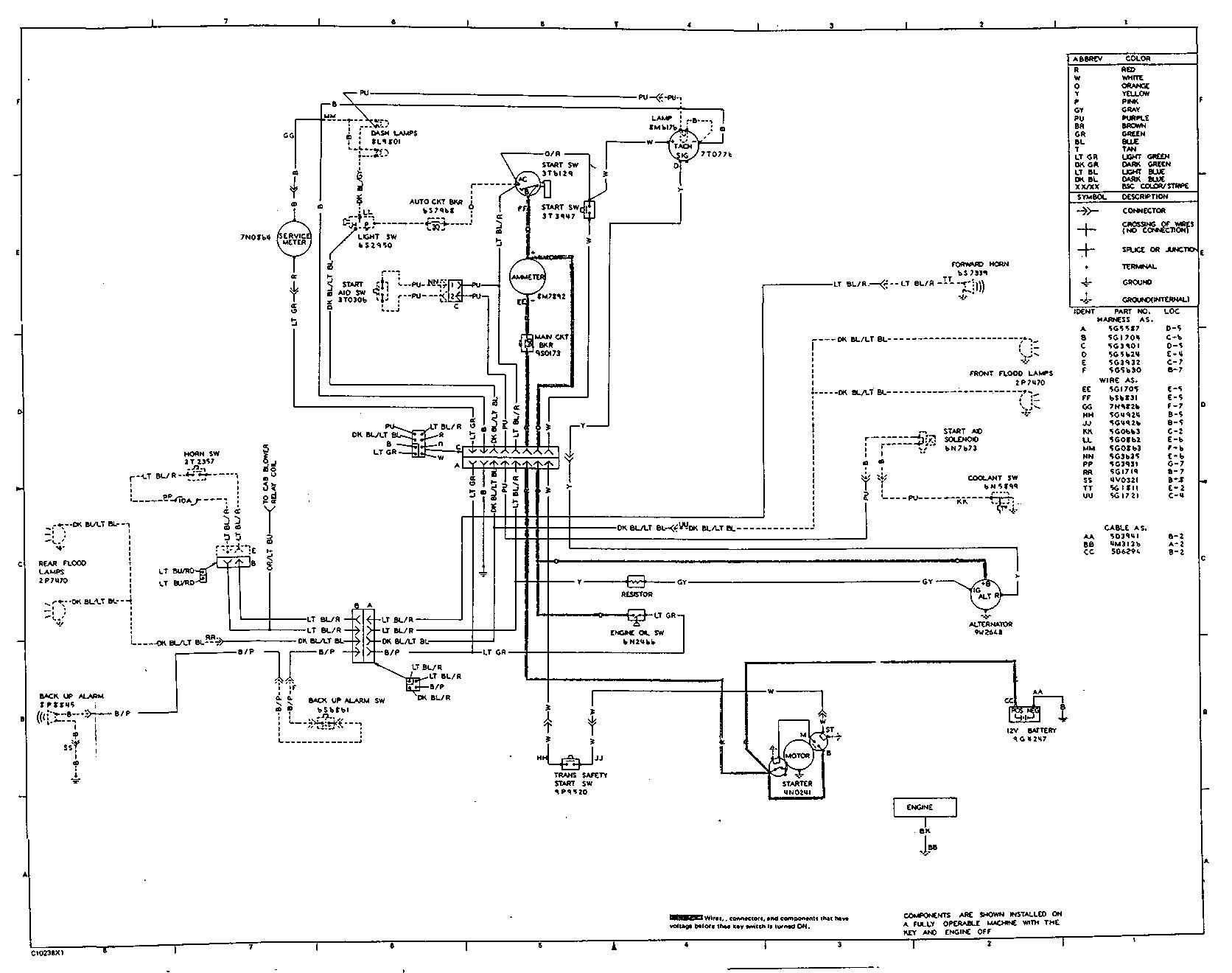 caterpillar generator wiring diagrams