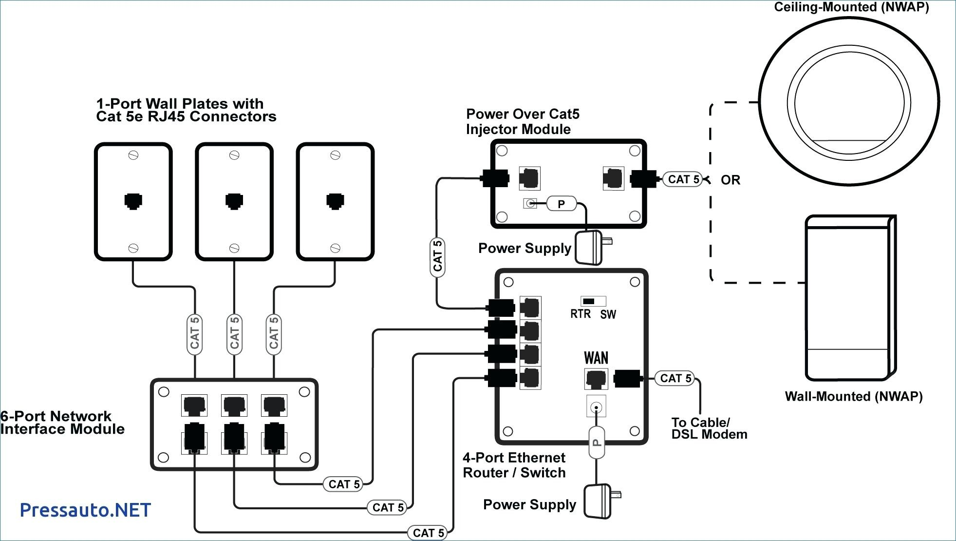 Cat6 Wiring Diagram Wall Plate Amazing Cat 6 Wiring S