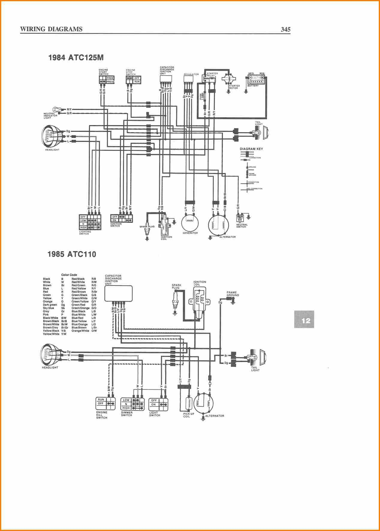 Chinese 4 Wheeler Wiring Diagram 50cc Dirt Bike Wiring