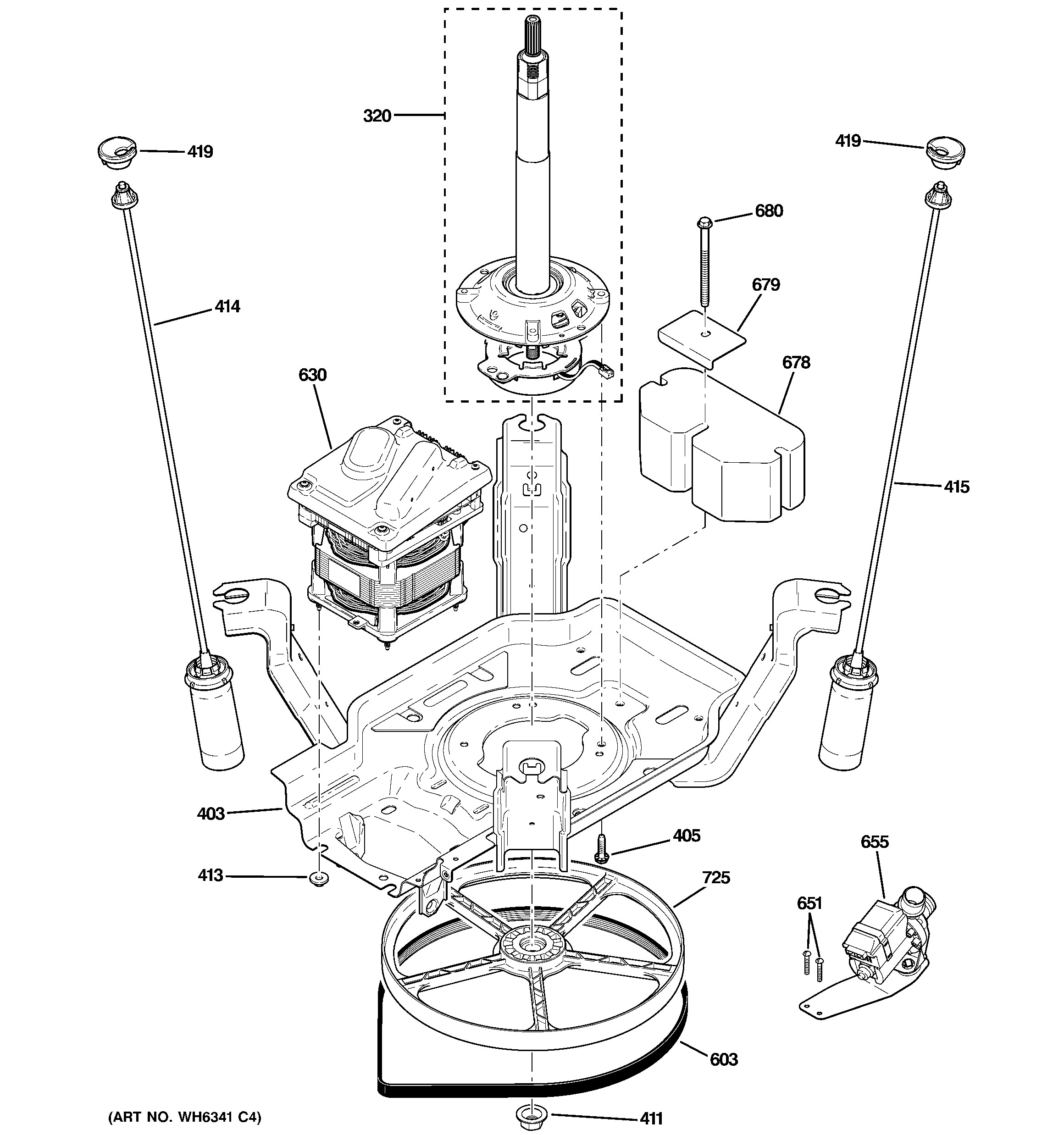 Clutch Components Diagram