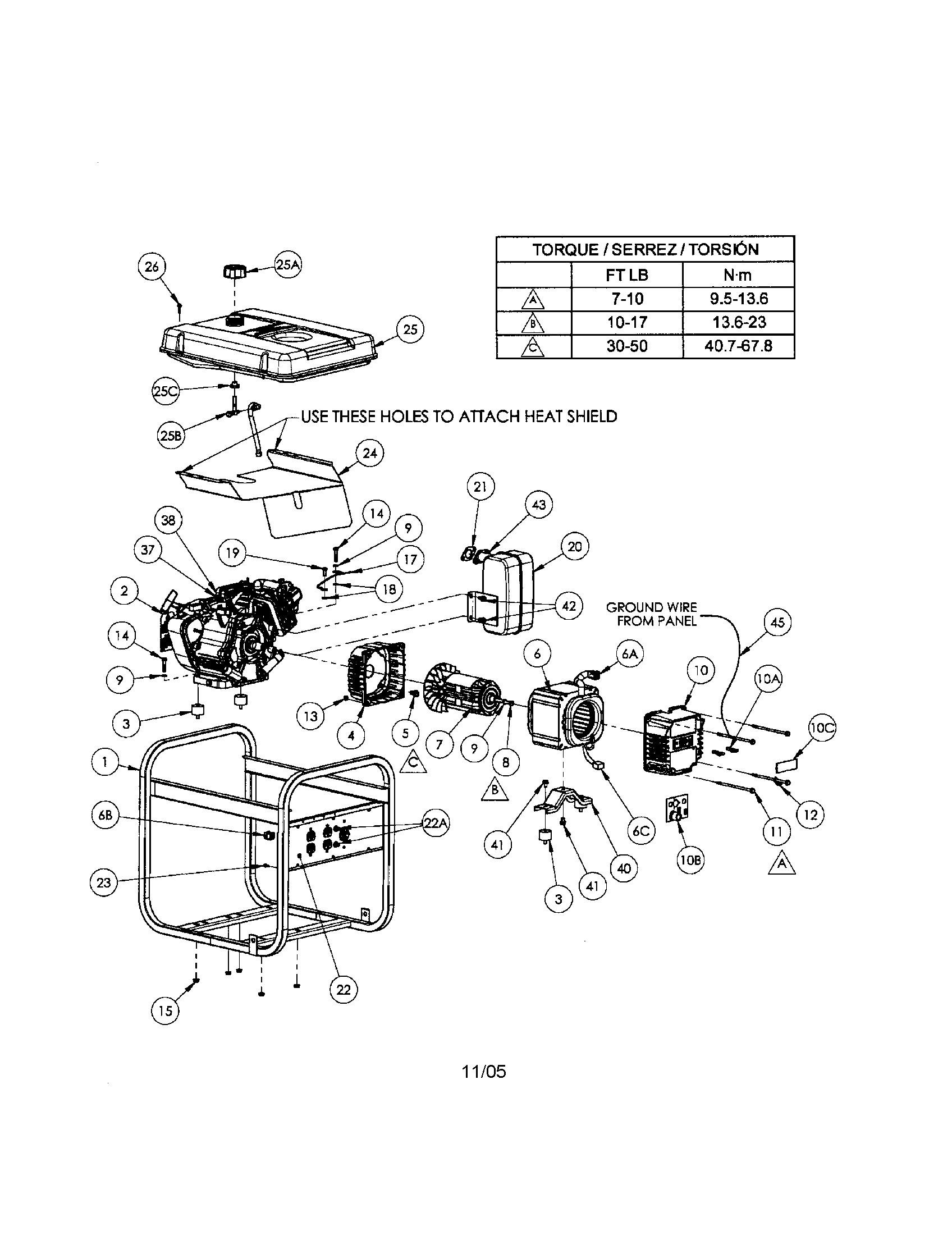 Coleman Powermate Parts Diagram