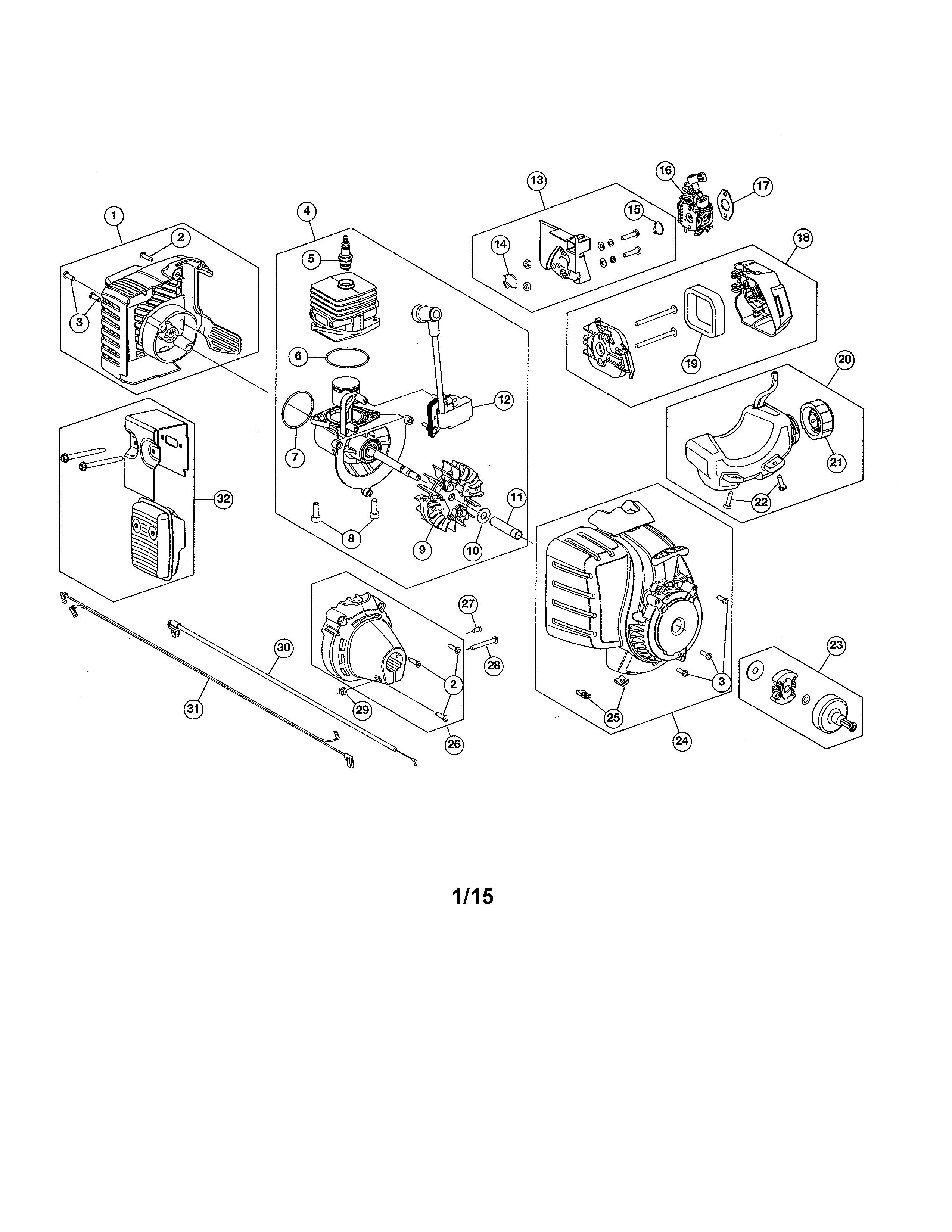 Craftsman Weed Eater Parts Diagram Nifty Fuel Filter