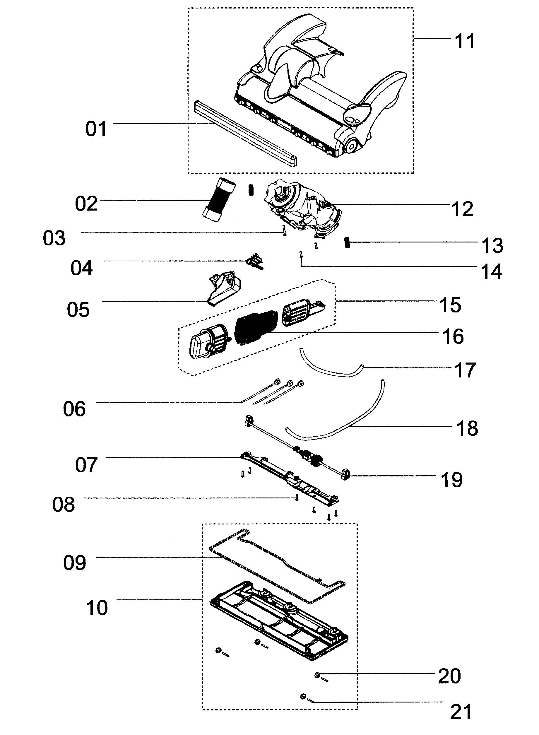 Dyson Dc15 Parts Diagram Dyson Dc33 Parts Diagram Rug