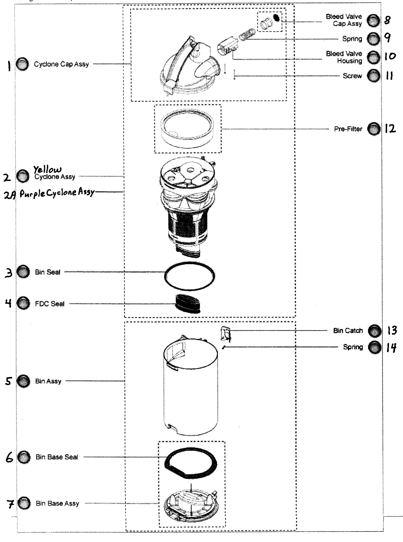 WRG-2891] Oreck Xl Switch Wiring Diagram on
