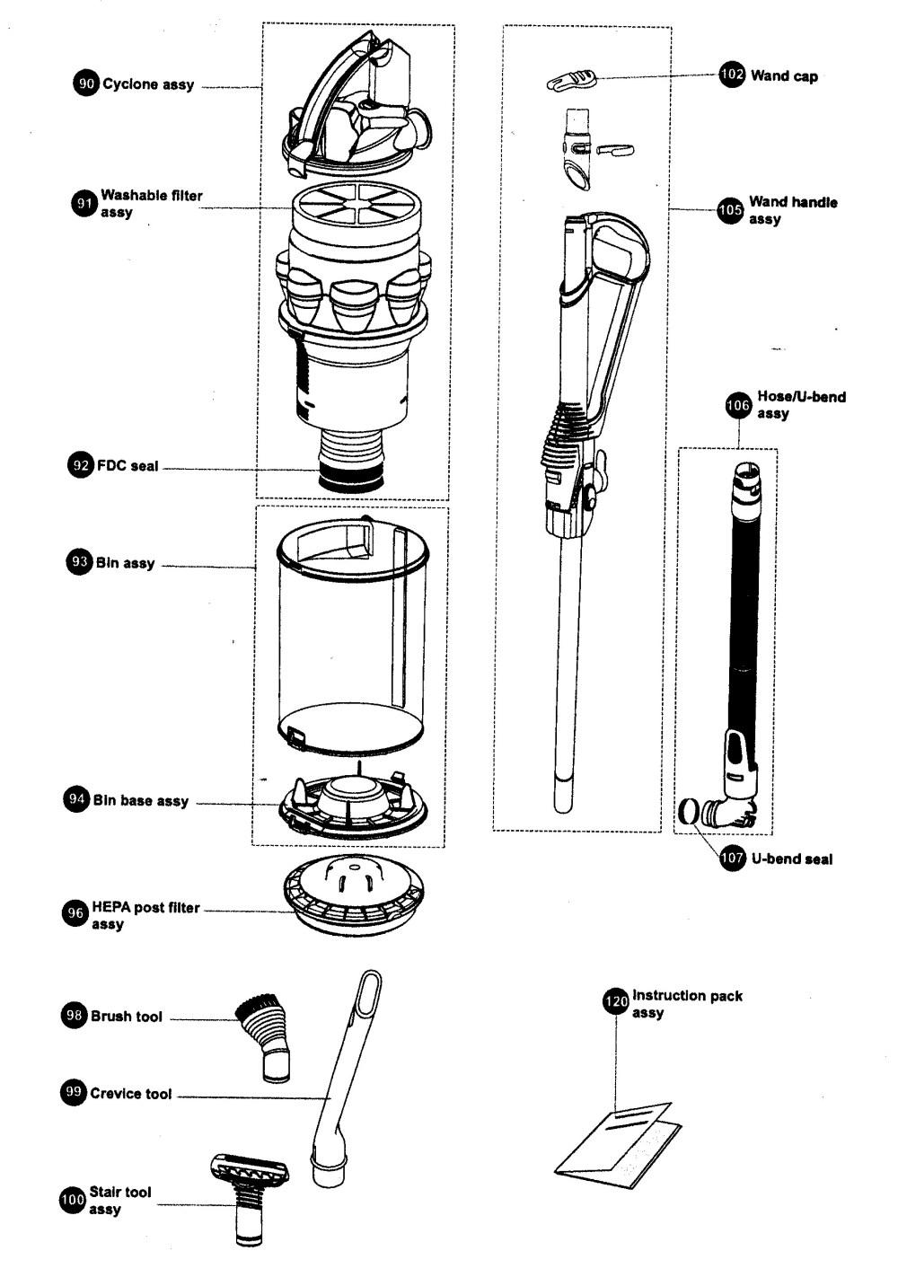 medium resolution of dyson dc25 parts diagram dyson vacuum diagram google search evolo pinterest of dyson dc25 parts diagram