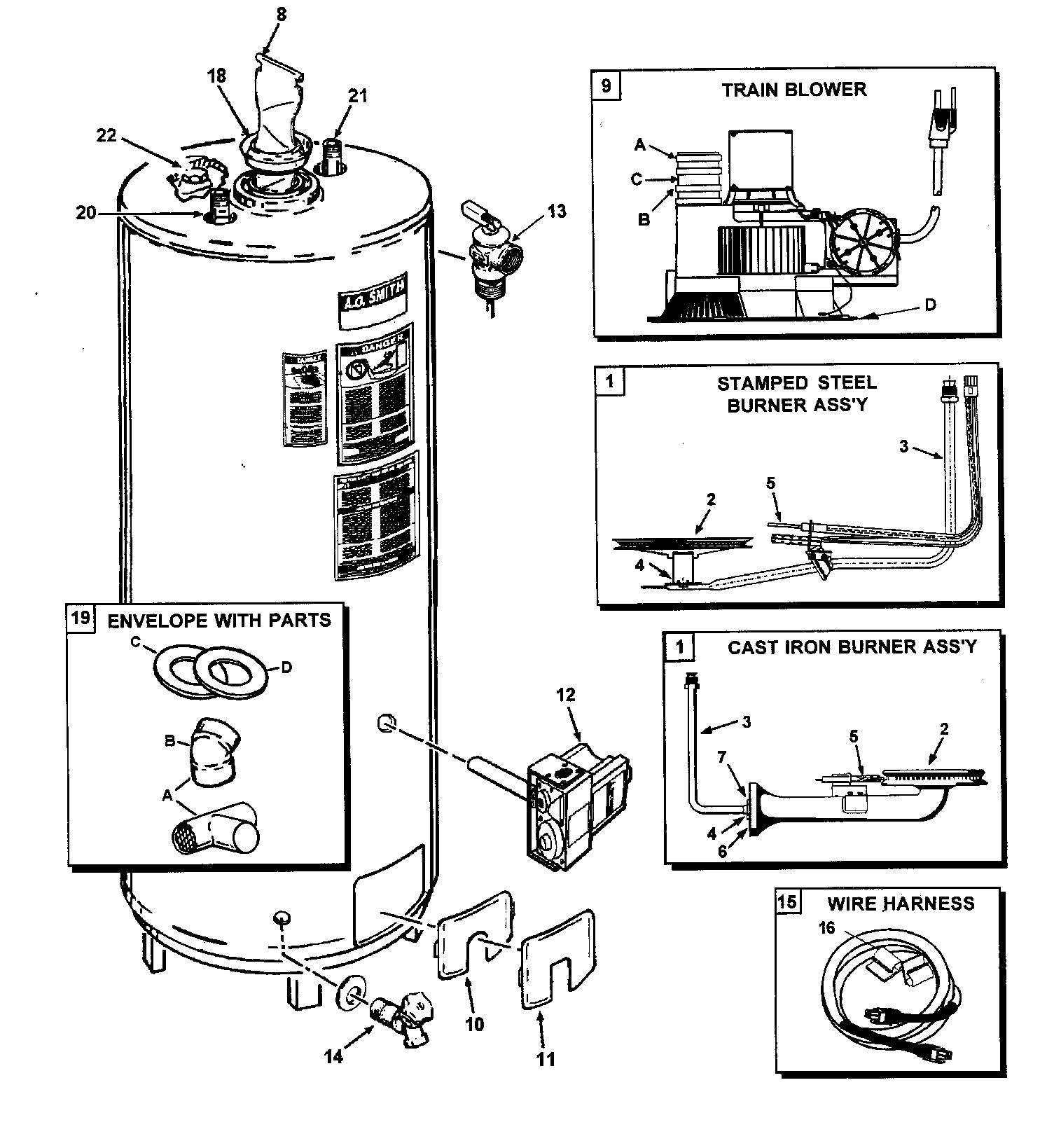 Hot Water Heater Wiring Diagram For Correct
