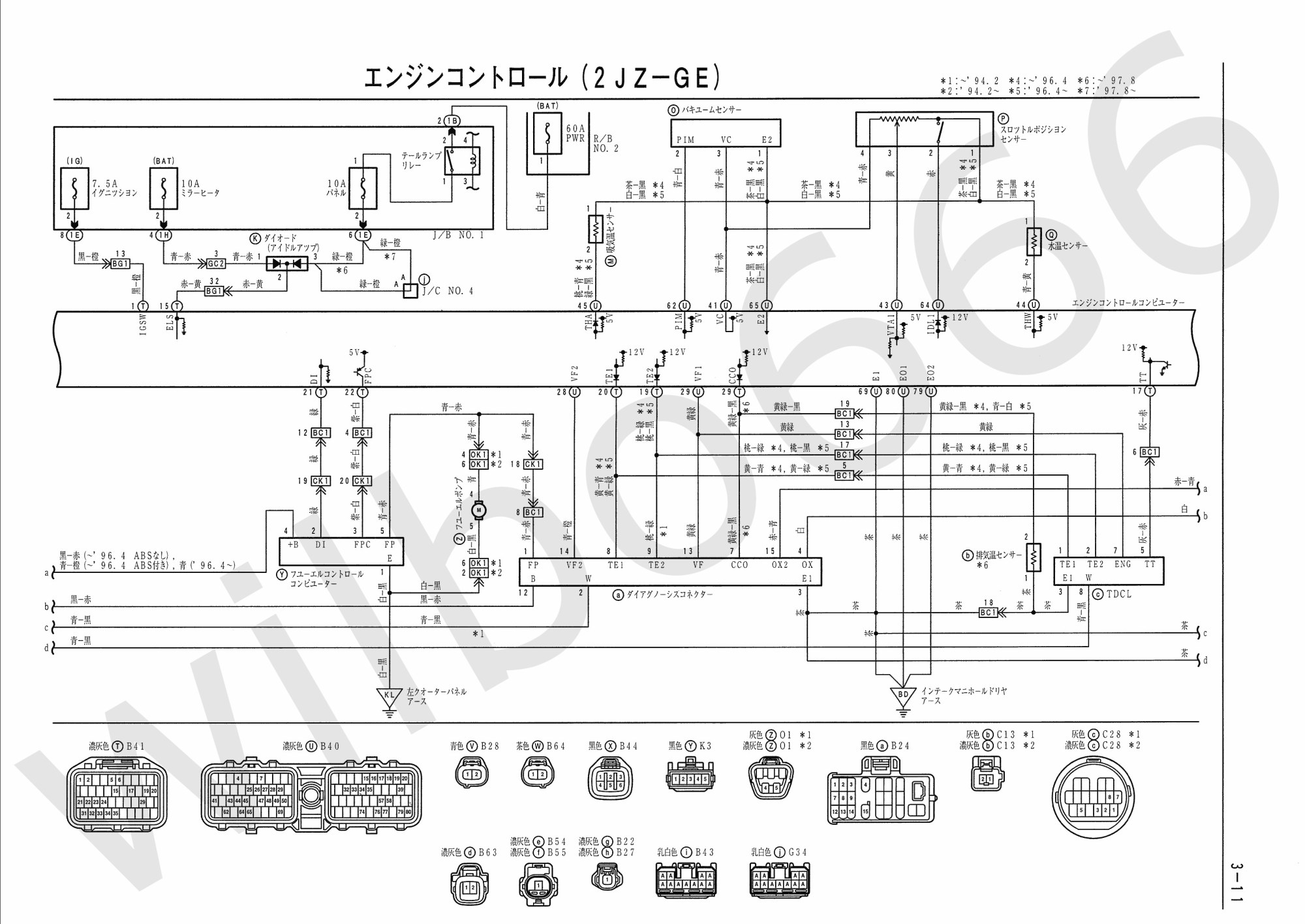 hight resolution of engine coolant temperature sensor wiring diagram wilbo666 2jz ge jza80 supra engine wiring of engine coolant