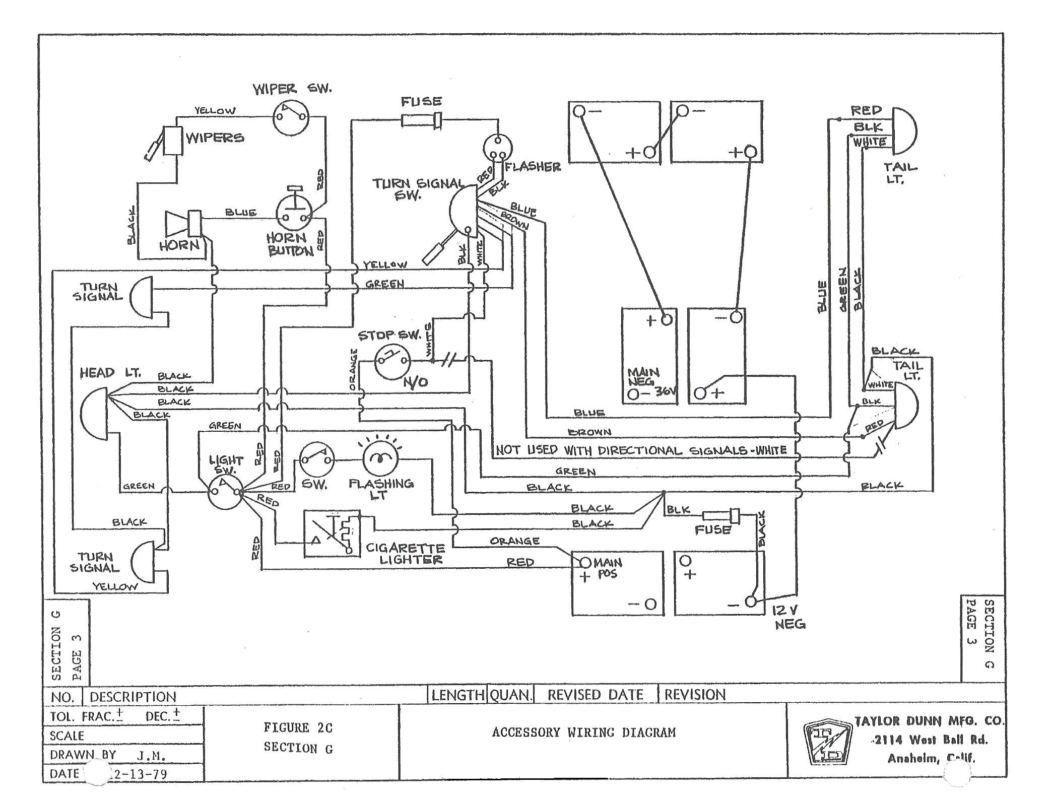 1998 Ez Go Golf Cart Wiring Diagram