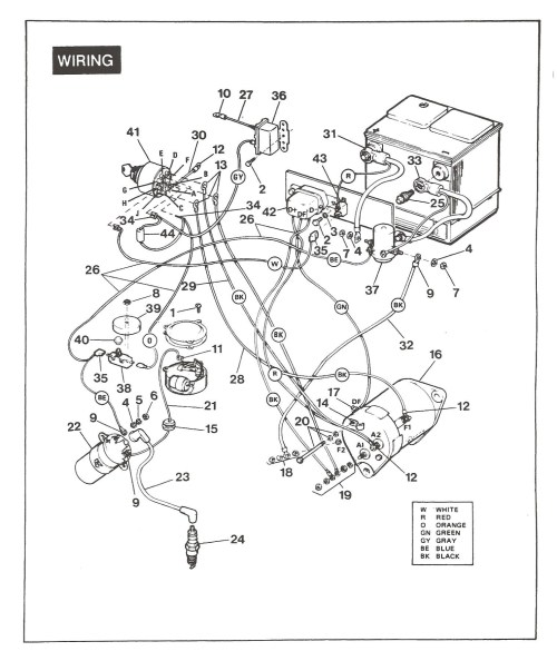 small resolution of ez go golf cart battery wiring diagram sch n 1984 ezgo schaltplan galerie schaltplan serie circuit