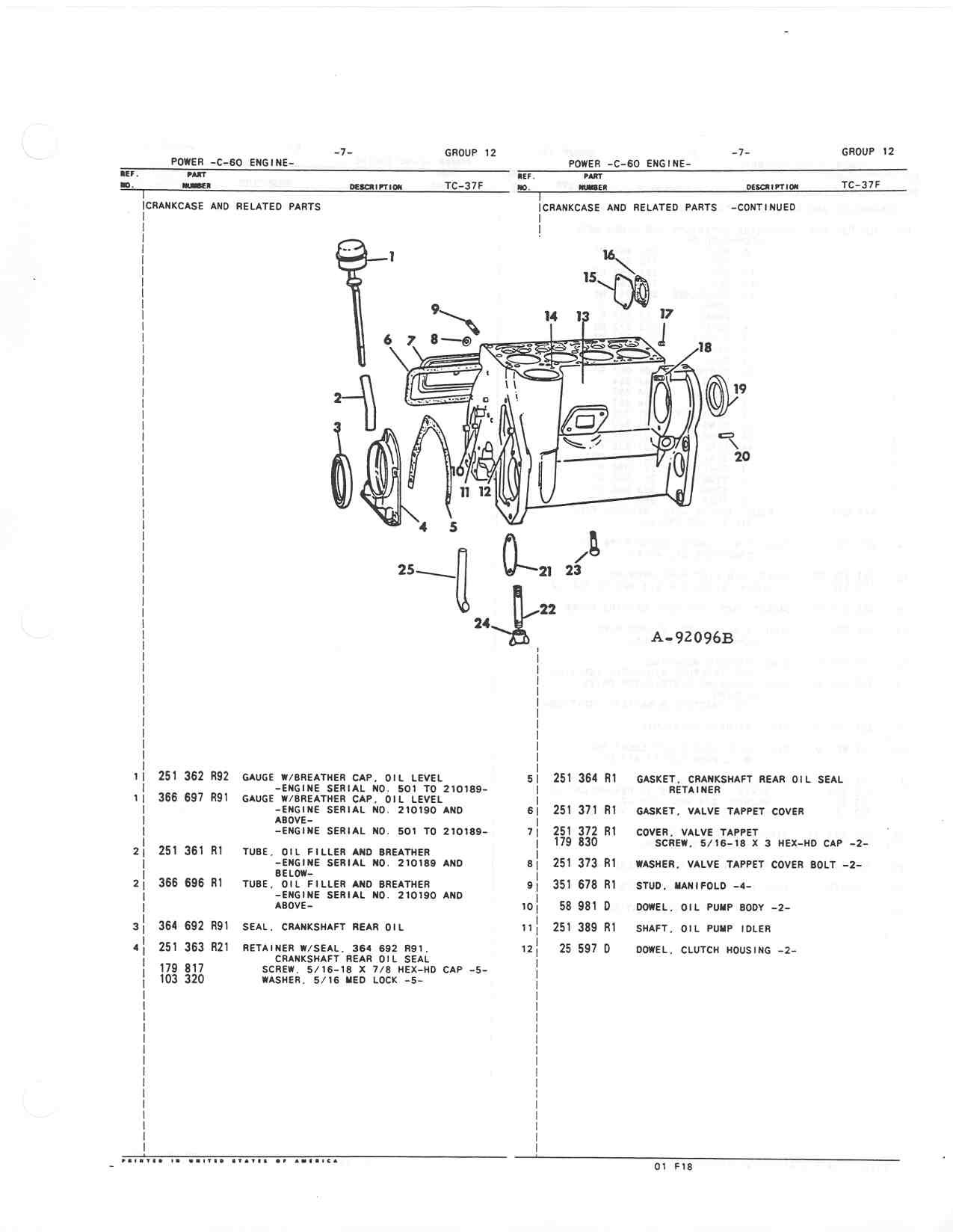Farmall M Parts Diagram - Wiring Diagrams List on