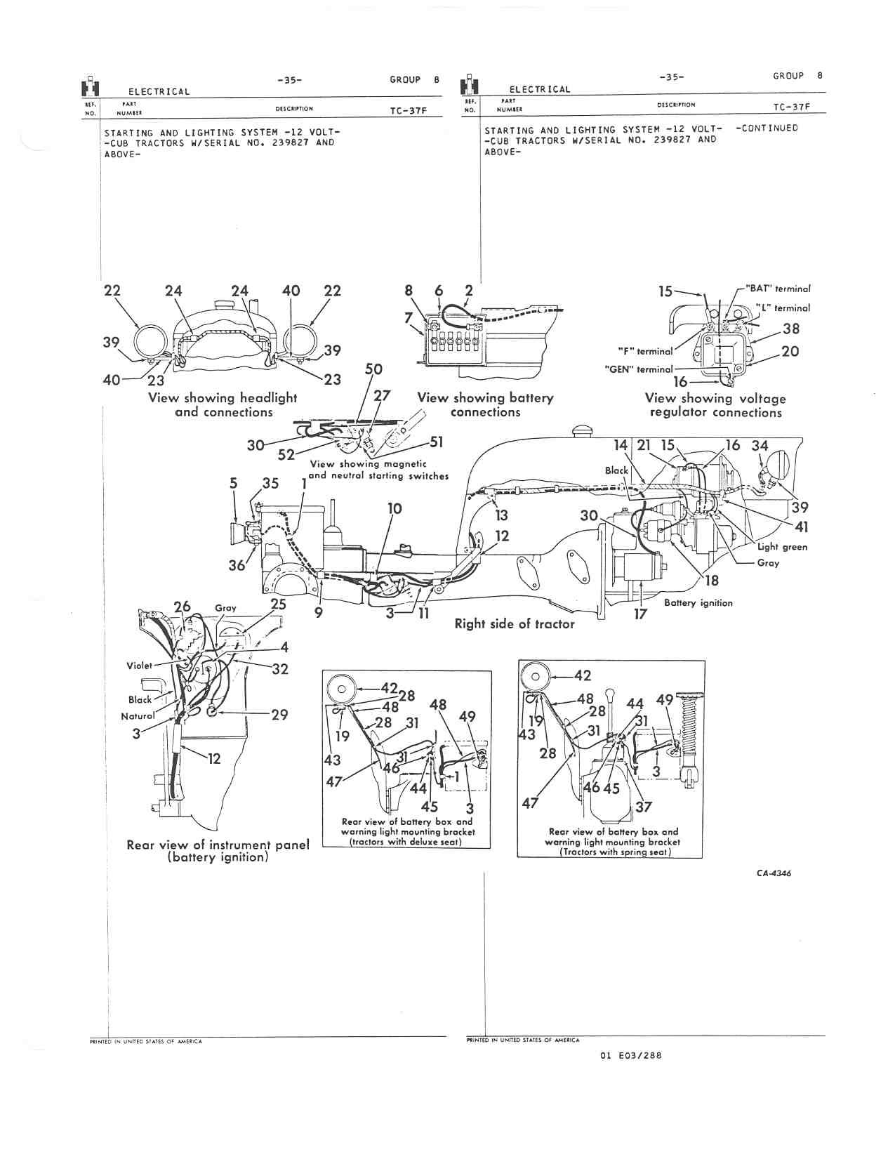 Farmall M Transmission Part Diagram
