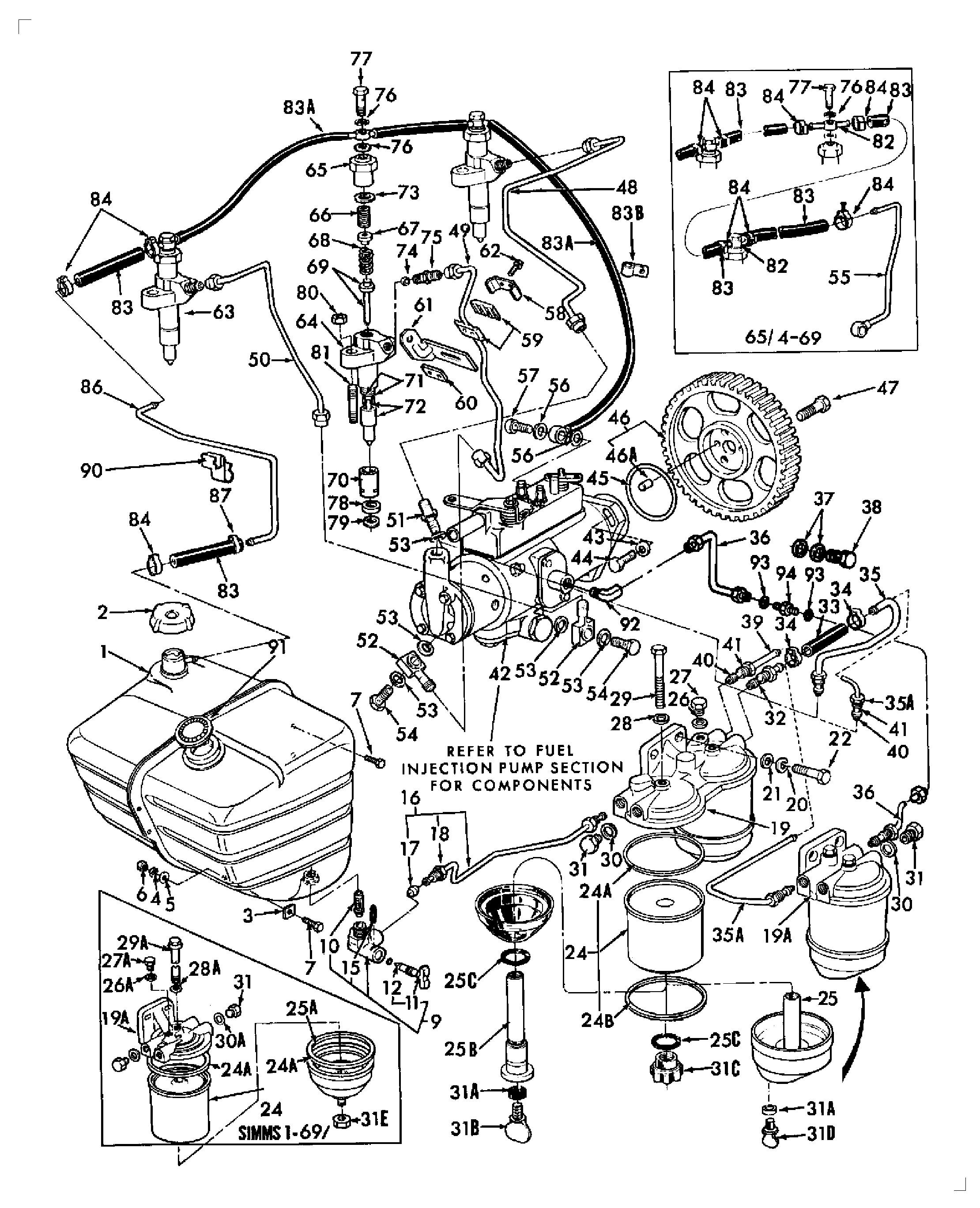 ford 2000 wiring diagram