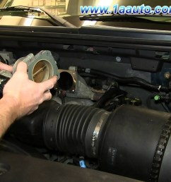 ford 5 4 triton engine diagram how to install replace engine throttle body 2005 06 ford [ 1920 x 1080 Pixel ]