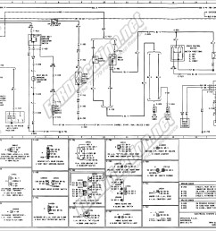 ford f250 engine diagram 1973 1979 ford truck wiring diagrams schematics fordification of ford f250 [ 3710 x 1879 Pixel ]