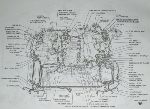 small resolution of 2001 mustang wiring harness wiring diagram structure 94 mustang alternator wiring harness