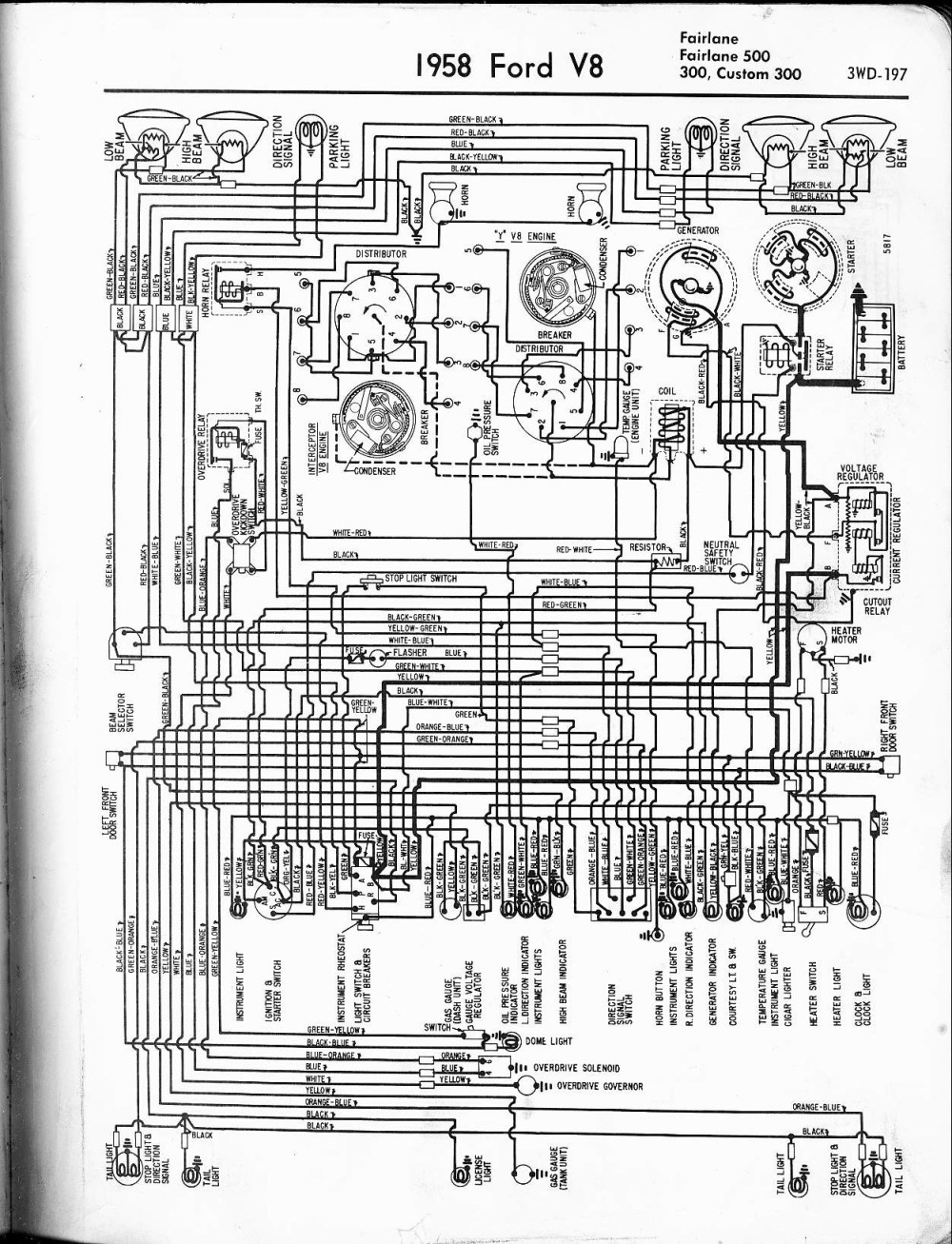 medium resolution of ford 1959 ignition wiring wiring diagram centre 1959 ford wiring diagram wiring diagram for you1959 ford