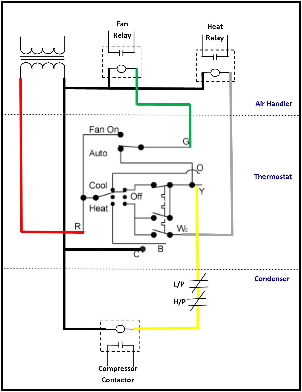 hight resolution of ac wiring diagram thermostat to air conditioning for low voltage and rh kanri info furnace