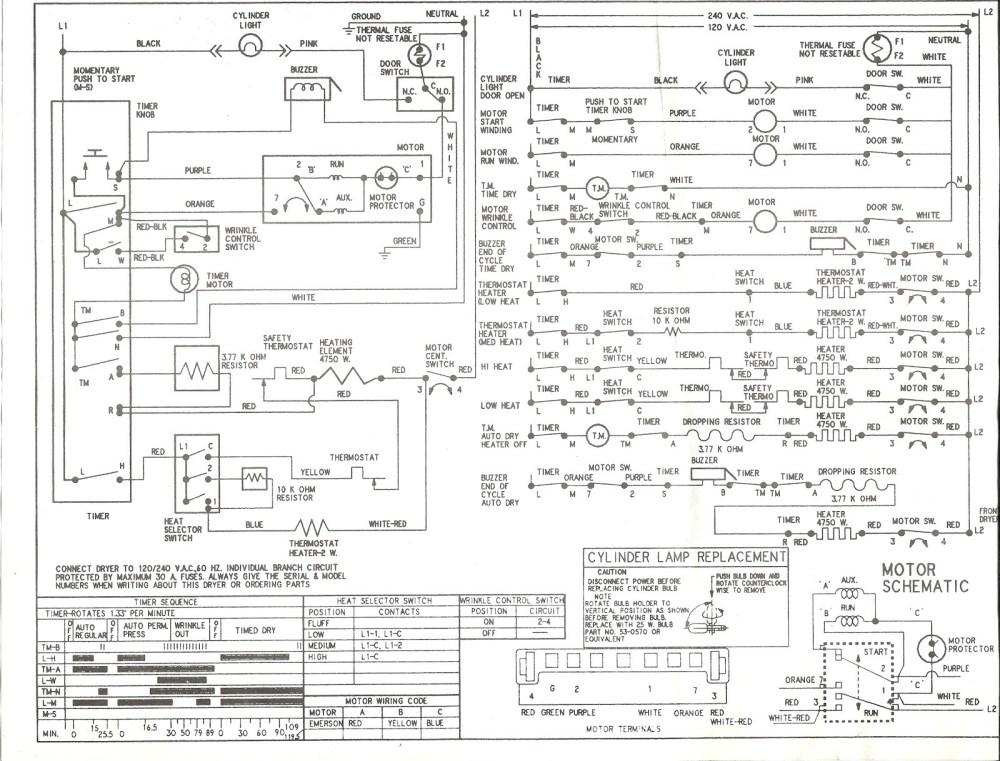medium resolution of roper dryer motor wiring diagram wiring diagrams lolroper dryer wiring diagram wiring diagram roper dryer parts