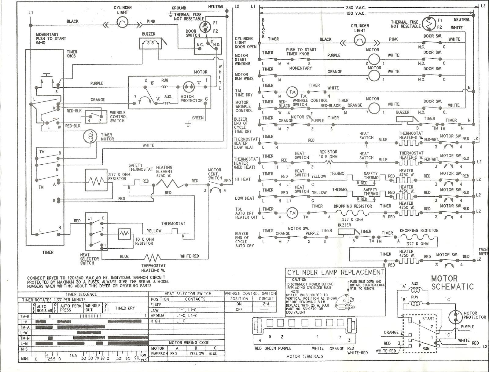 hight resolution of roper dryer motor wiring diagram wiring diagrams lolroper dryer wiring diagram wiring diagram roper dryer parts