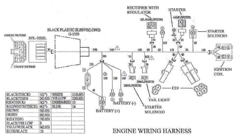 small resolution of wiring diagram for roketa go kart engine wiring library go kart engine diagram engine wiring harness