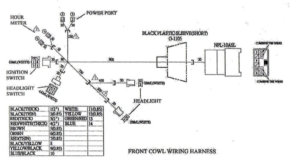 medium resolution of go kart engine diagram main wire cowl for yerf dog cuvs