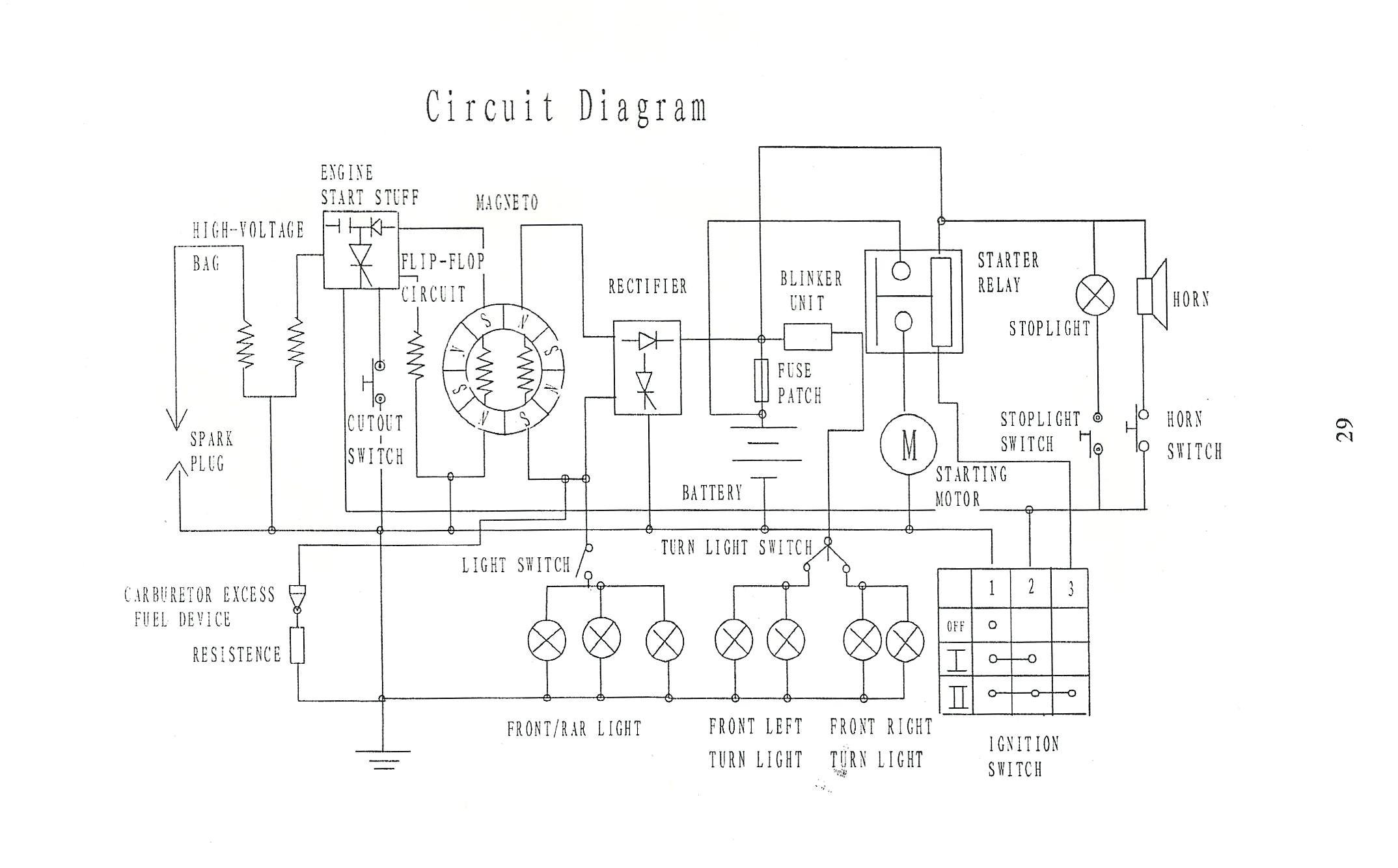 150cc Go Kart Wiring Diagram | Wiring Schematic Diagram ... on