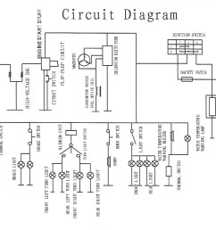 Wiring Diagram For Roketa Go Kart Engine  Roketa Go Kart