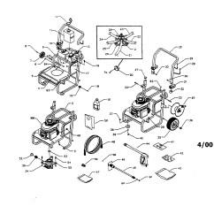 Honda Engine Gcv160 Carburetor Diagram Yamaha Electric Golf Cart Wiring Gc160 Parts Craftsman Model Power Washer Gas