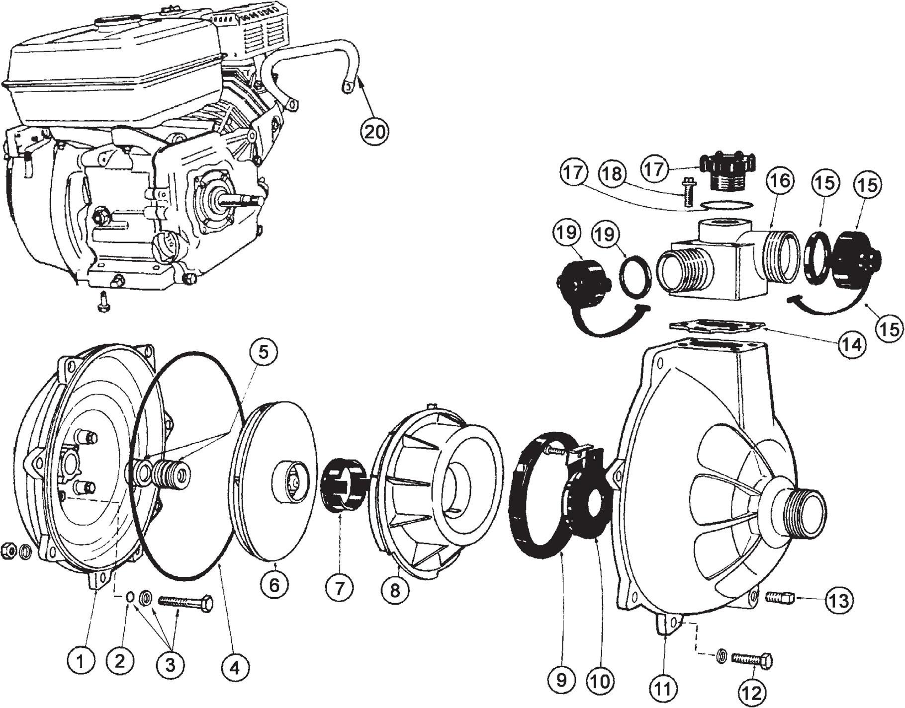 Honda Gc160 Pump Parts Diagram • Wiring Diagram For Free