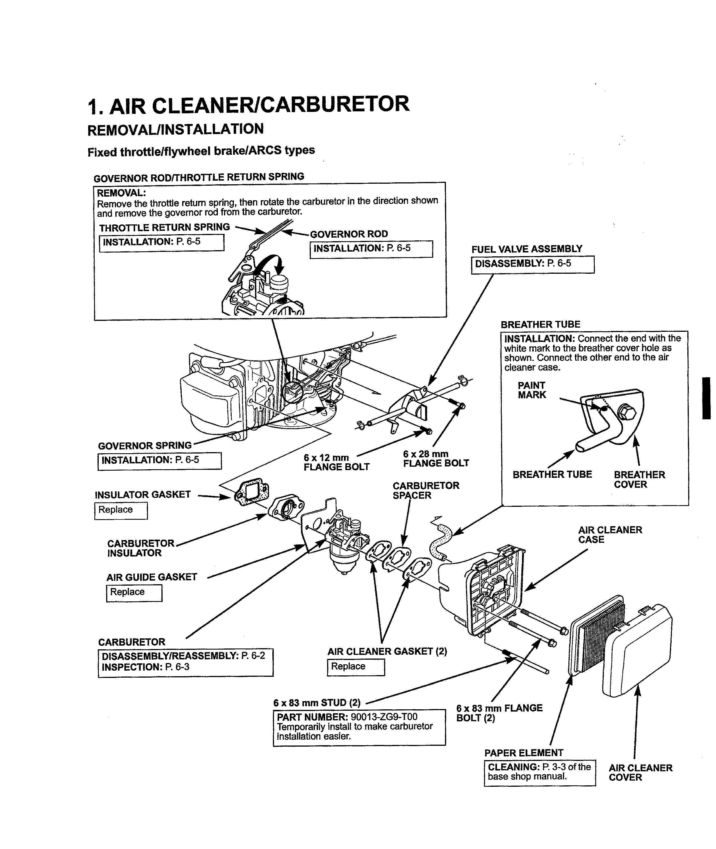 ... Array - rummy toro super bagger mower honda engines engine model info  honda rh 06 aba large of honda gcv160 ...