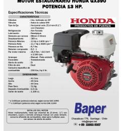 honda gx390 parts diagram motor estacionario honda bencinero gx390 13hp arranque manual baper of honda gx390 [ 1275 x 1650 Pixel ]
