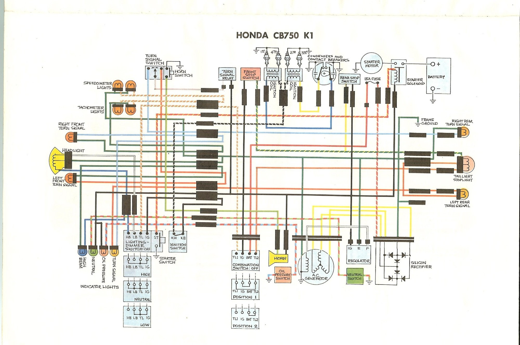 hight resolution of 1978 honda cb750k wiring diagram wiring library wiring diagram also 1976 honda cb750 wiring diagram on cb 750 wiring