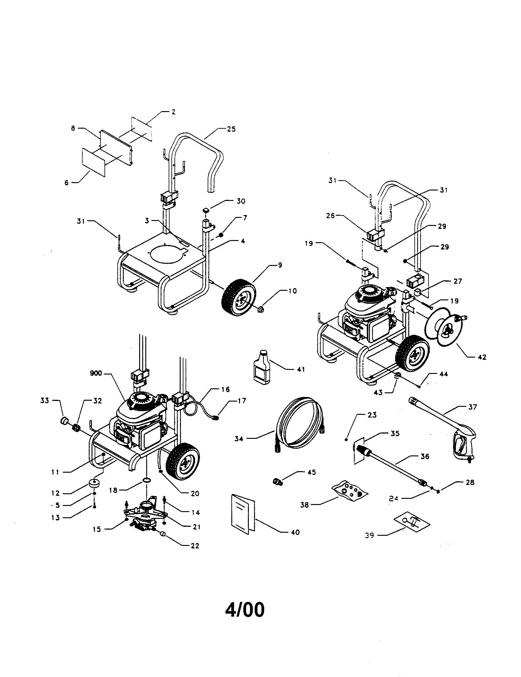 Honda 190 Pressure Washer Schematic