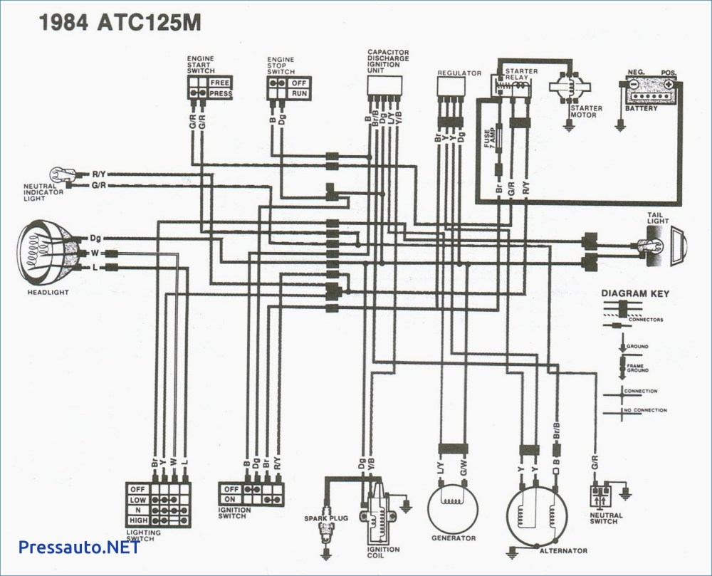 medium resolution of honda 125m wiring diagram wiring diagram used honda atc 125m wiring diagram atc 125 wiring diagram