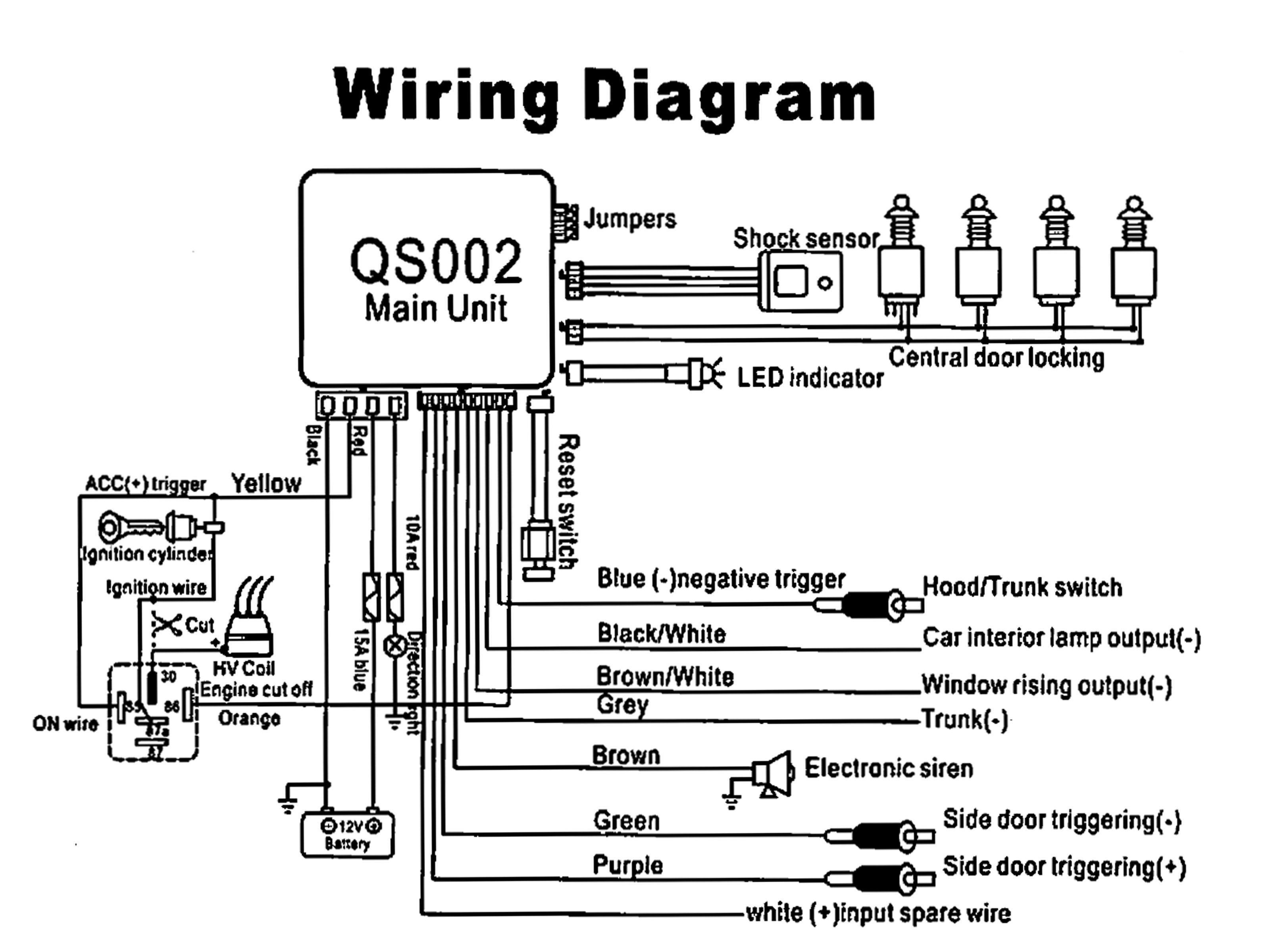 Alpine Car Alarm Wiring Diagram