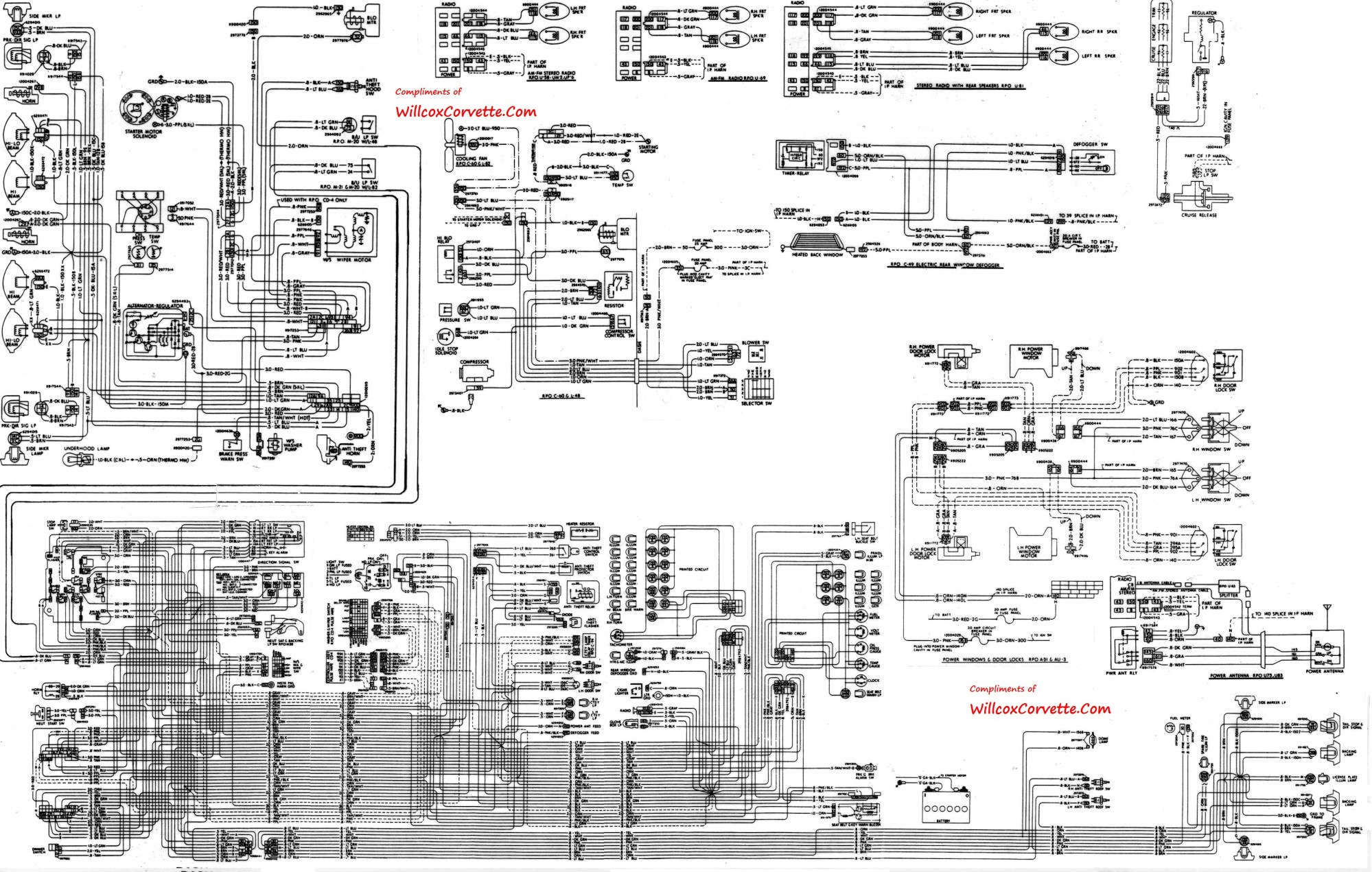 hight resolution of 81 corvette fuse panel diagram wiring data
