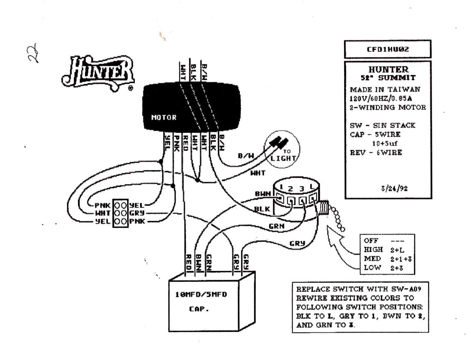 Hunter Fan Switch Wiring Diagram Alternator Wiring Diagram