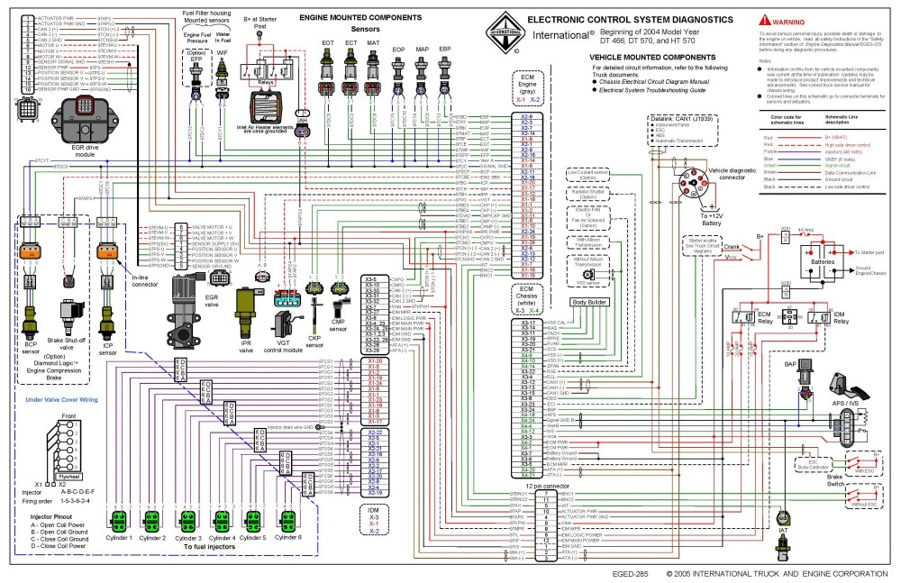 medium resolution of navistar maxxforce dt engine diagrams wiring diagram expert international 466t engine coolant diagram