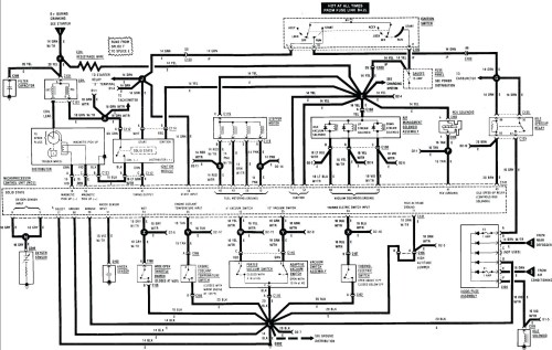 small resolution of 1986 cj7 wiring harness diagram