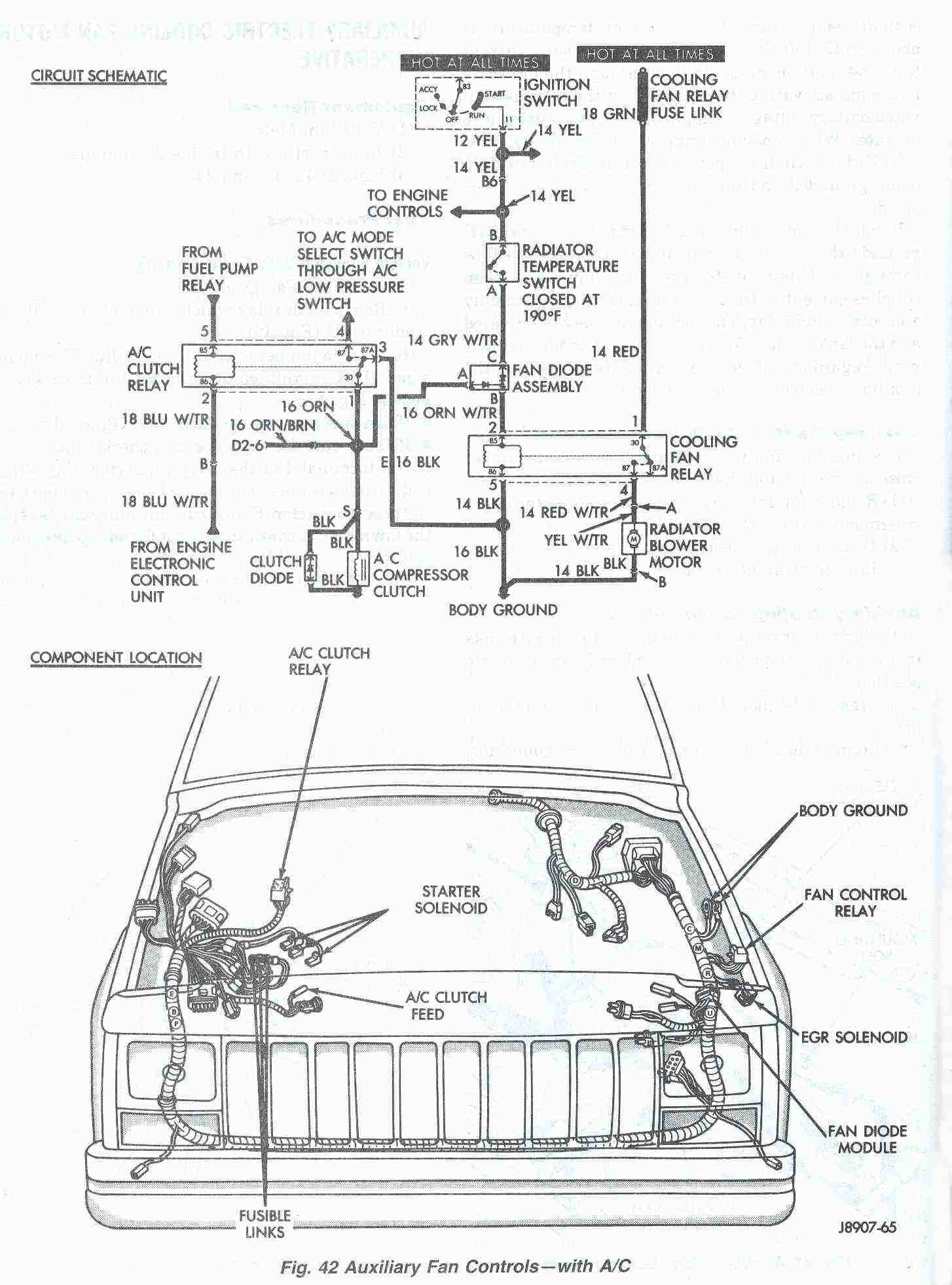2002 Jeep Grand Cherokee Loredo Parts Diagram • Wiring