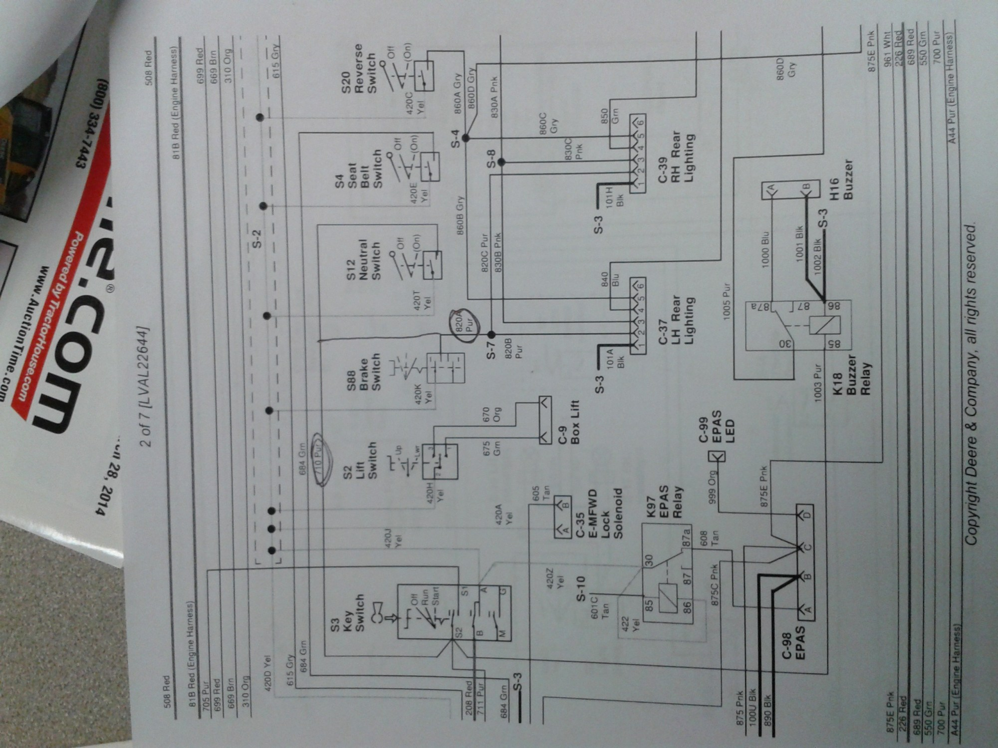 hight resolution of wrg 2228 john deere a wiring diagram for 1100john deere a wiring diagram for 1100