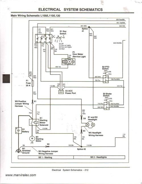 small resolution of john deere 100 series wiring diagram new the12volt wiring diagrams diagram of john deere 100 series