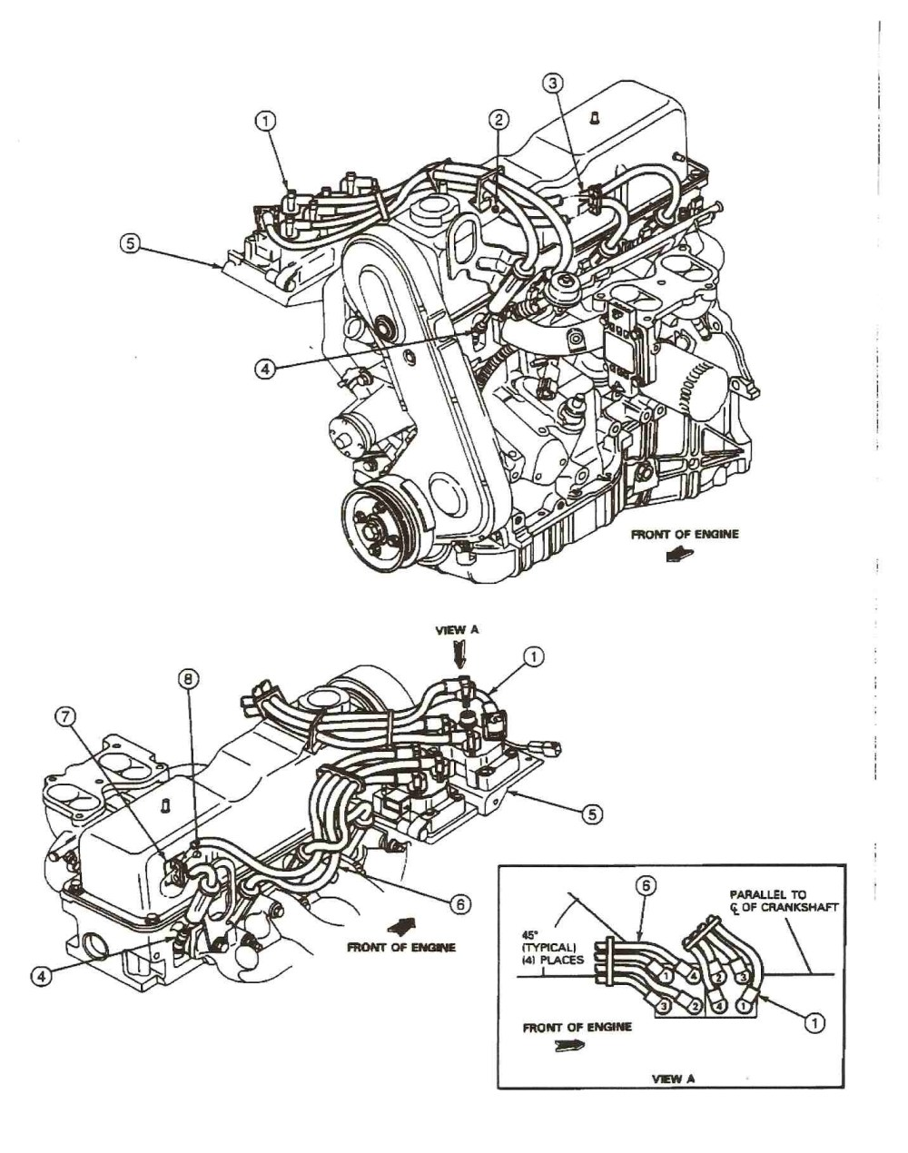 medium resolution of 1999 mazda b2500 engine diagram