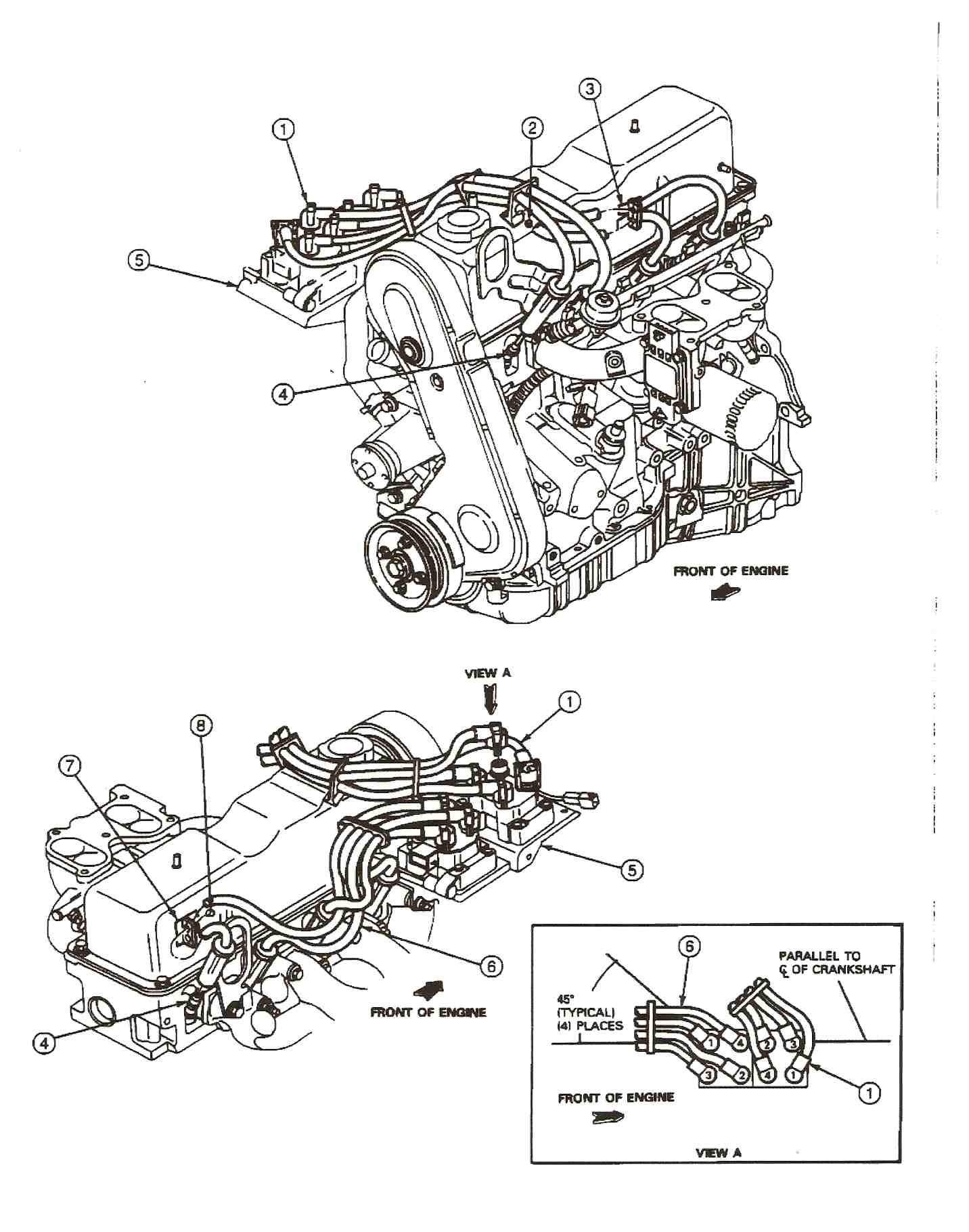 hight resolution of 1999 mazda b2500 engine diagram