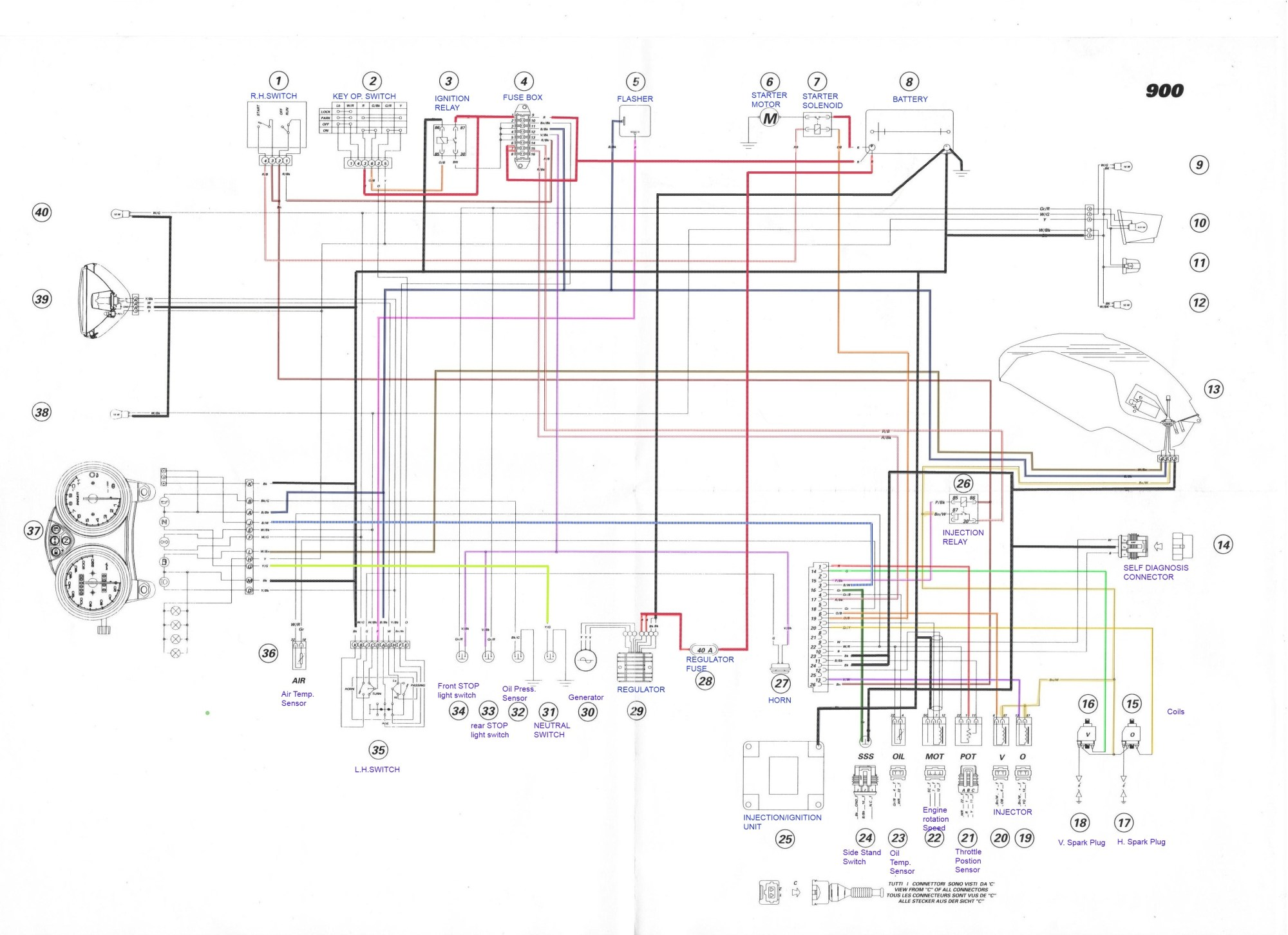 hight resolution of wiring diagram 2002 ducati enthusiast wiring diagrams u2022 rh rasalibre co 2003 suzuki vl800 wiring diagram