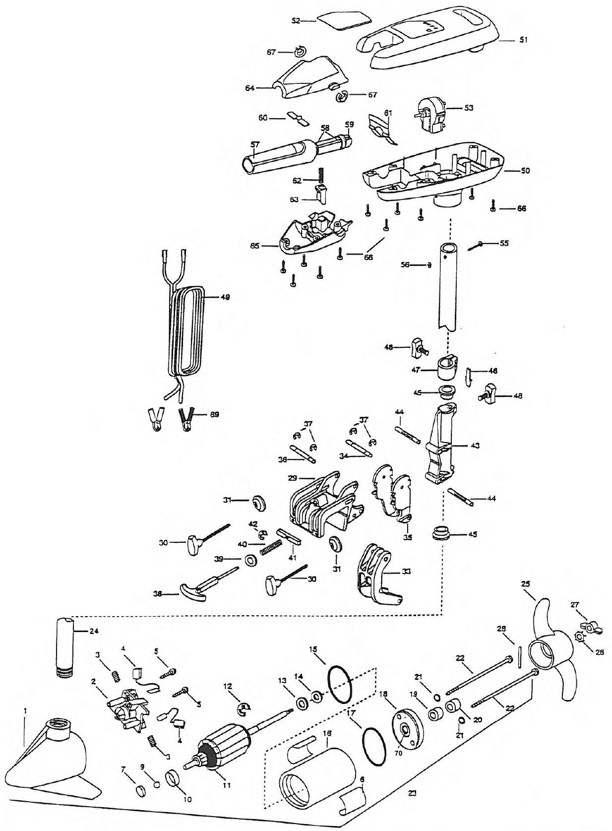 minn kota battery charger wiring diagram five way switch stunning 36 volt